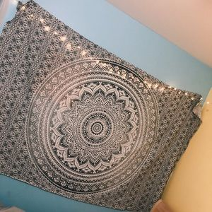 Other - grey and white tapestry